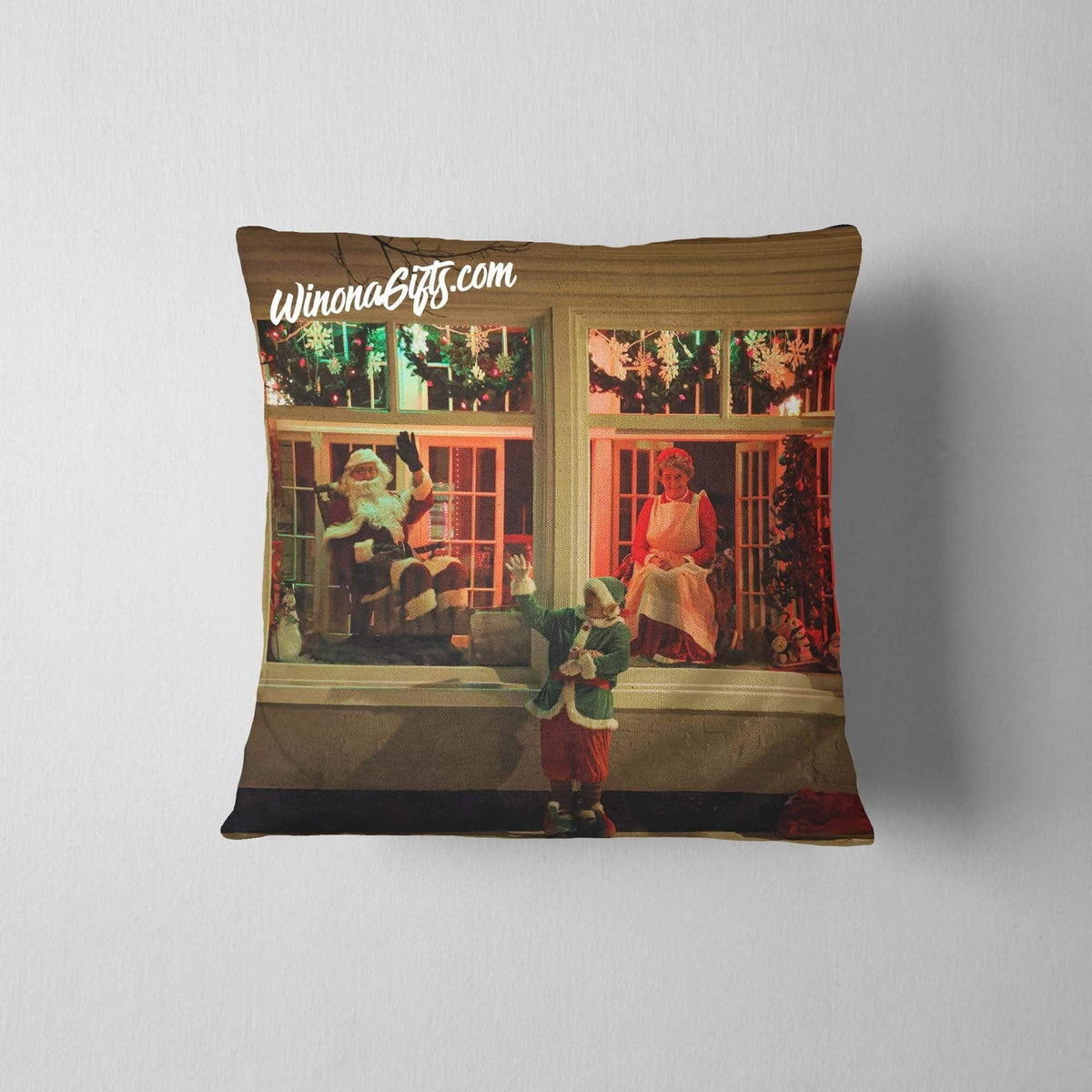 Pillow Santa Claus in Winona Minnesota - Kari Yearous Photography WinonaGifts KetoGifts LoveDecorah
