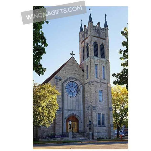 St. Martin's Church Winona Minnesota - Art Print - Kari Yearous Photography WinonaGifts KetoGifts LoveDecorah