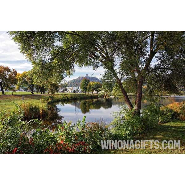Sugarloaf Winona Minnesota Wonderland - Art Print - Kari Yearous Photography WinonaGifts KetoGifts LoveDecorah