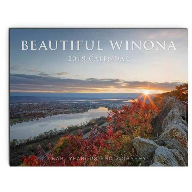 Beautiful Winona Calendar for 2018 - Kari Yearous Photography WinonaGifts KetoGifts LoveDecorah