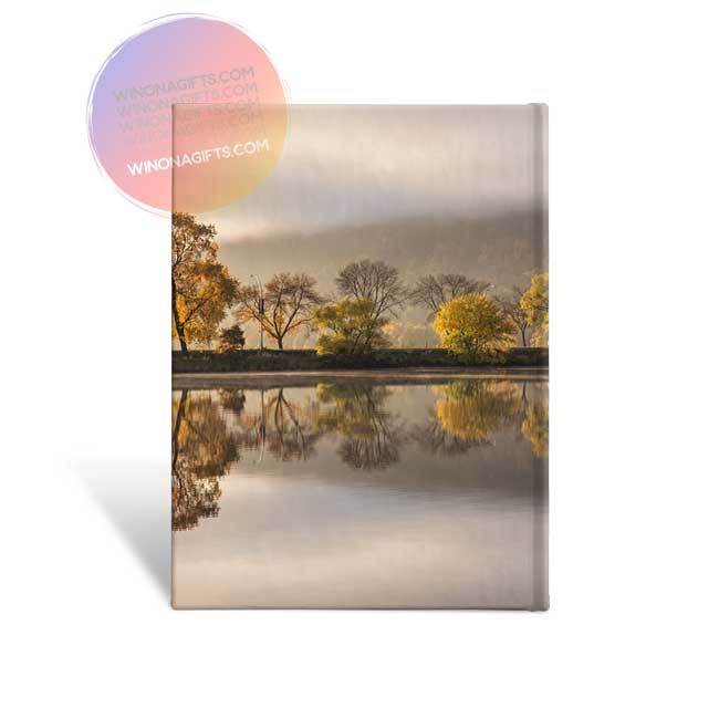 Winona Minnesota Hardcover Journal Huff Street Magic - Kari Yearous Photography WinonaGifts KetoGifts LoveDecorah
