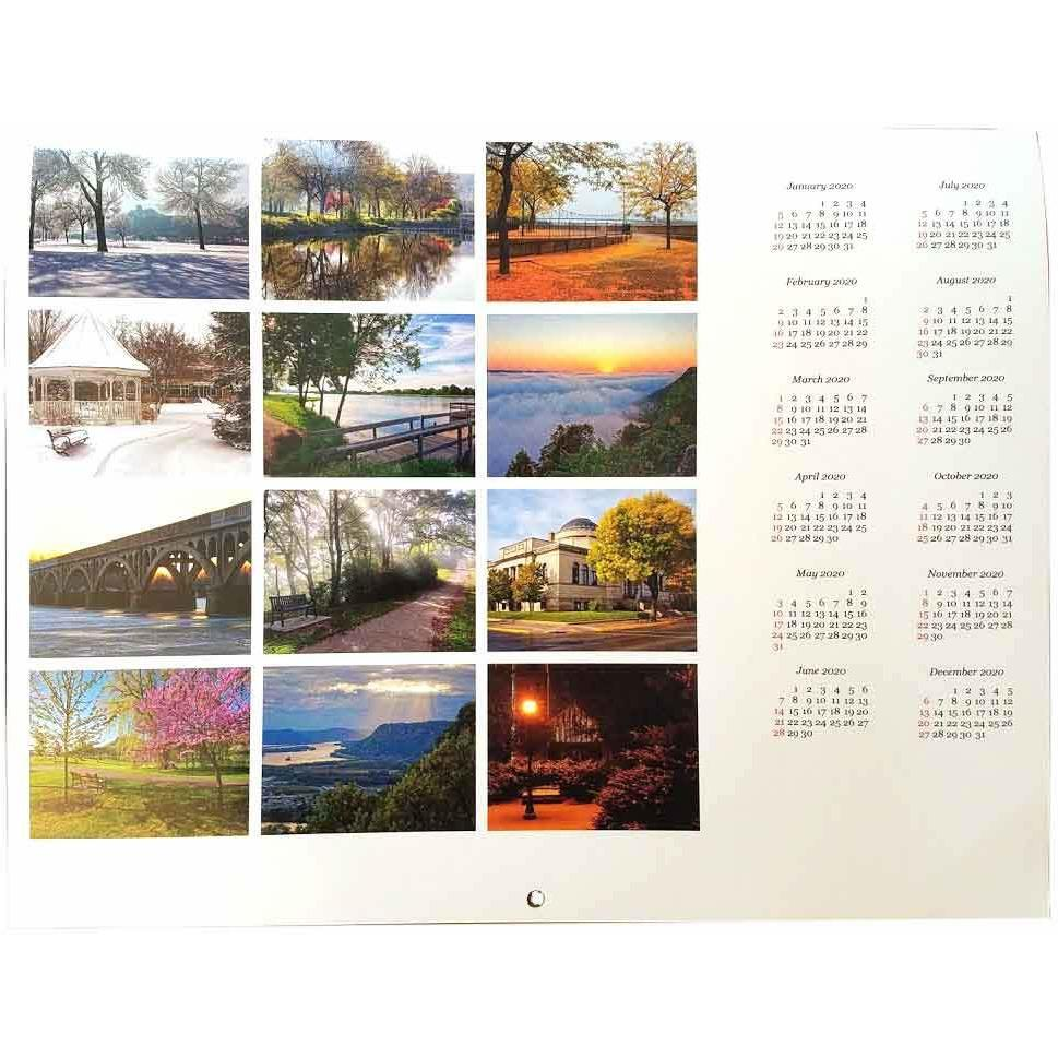 2019 Winona Calendar, Kari Yearous Photography Winona Calendar - Kari Yearous Photography WinonaGifts KetoGifts LoveDecorah