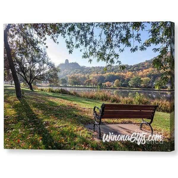 Winona Gift - Seat With A View - Canvas Print - Kari Yearous Photography WinonaGifts KetoGifts LoveDecorah