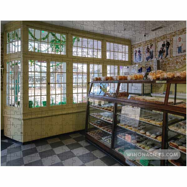 Winona MN Bakery Jigsaw Puzzle - Kari Yearous Photography WinonaGifts KetoGifts LoveDecorah