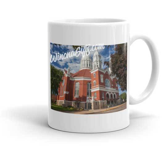 Mug Minor Basilica of Saint Stanislaus Kostka, Winona, Minnesota - Kari Yearous Photography WinonaGifts KetoGifts LoveDecorah