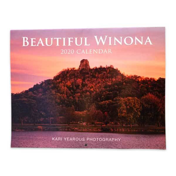 Winona Minnesota Photography Calendar 2020 - Kari Yearous Photography WinonaGifts KetoGifts LoveDecorah