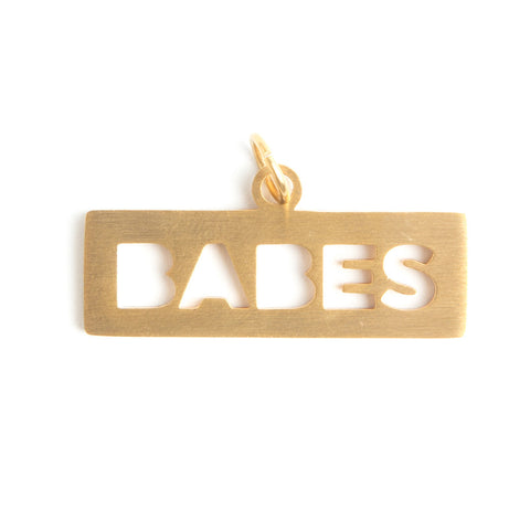 BABES DOG TAG  - Jaeci Jewlery