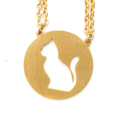 Cat Spirit Animal Necklace ISFP Spirit Animal Necklace - Jaeci Jewlery