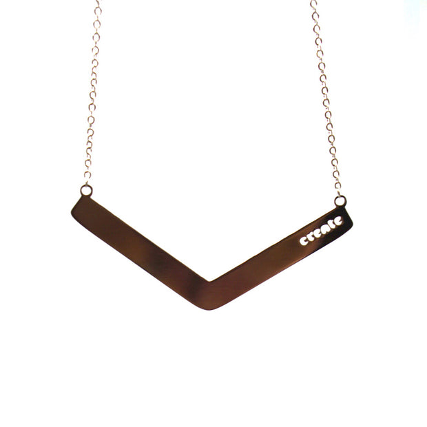 Create Angle Bar Necklace Religious Jewelry - Jaeci Jewlery
