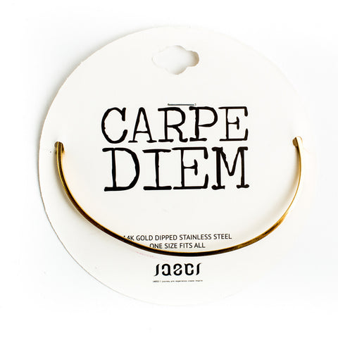 Carpe Diem Delicate Bangle