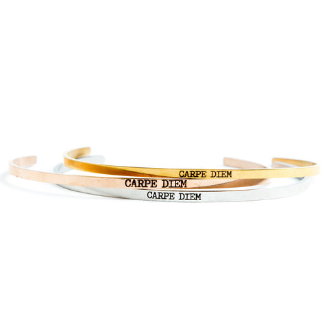 Carpe Diem Delicate Bangle  - Jaeci Jewlery