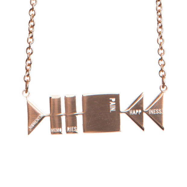 Delicate Control Life Necklace Short Necklace - Jaeci Jewlery