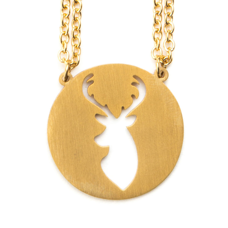 Deer Spirit Animal Necklace ISFP Spirit Animal Necklace - Jaeci Jewlery