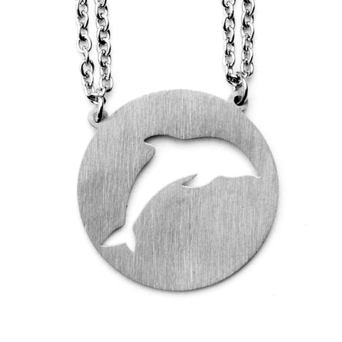 Dolphin Spirit Animal Necklace ENFP  - Jaeci Jewlery