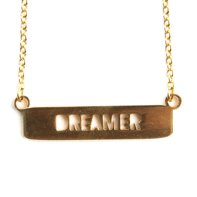 Dreamer Cutout Necklace Religious Jewelry - Jaeci Jewlery