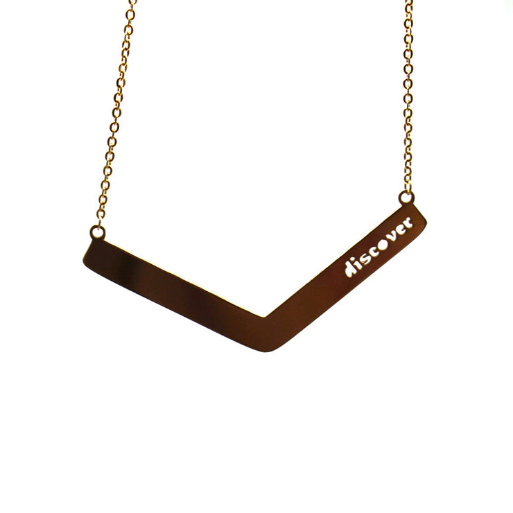 Discover Angle Bar Necklace Religious Jewelry - Jaeci Jewlery