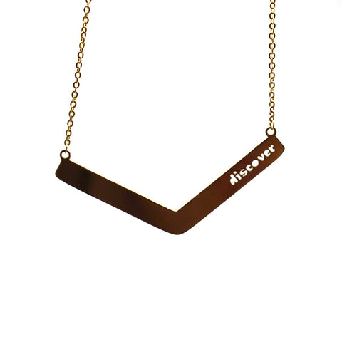 Discover Angle Bar Necklace