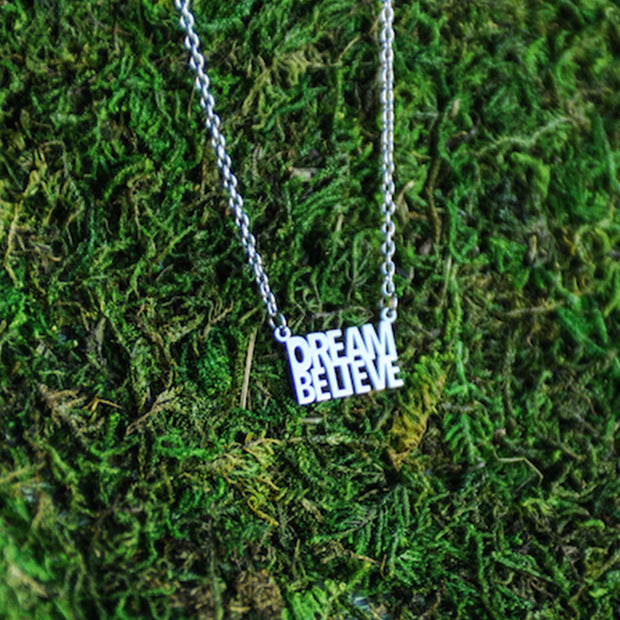 Do. Dream. Believe. Delicate Necklace Religious Jewelry - Jaeci Jewlery