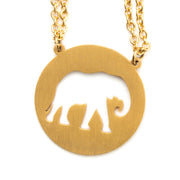Elephant Spirit Animal Necklace ESFJ Spirit Animal Necklace - Jaeci Jewlery
