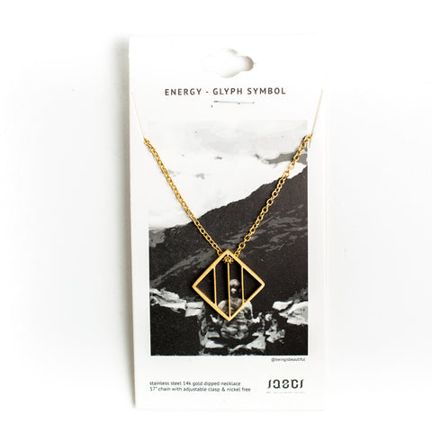 DELICATE ENERGY SHAPE NECKLACE
