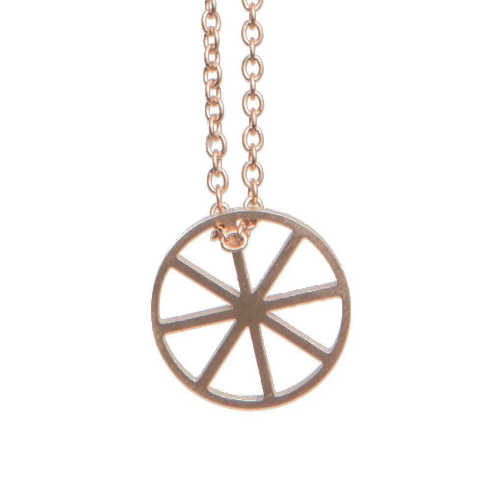 DELICATE FAITH SHAPE NECKLACE  - Jaeci Jewlery