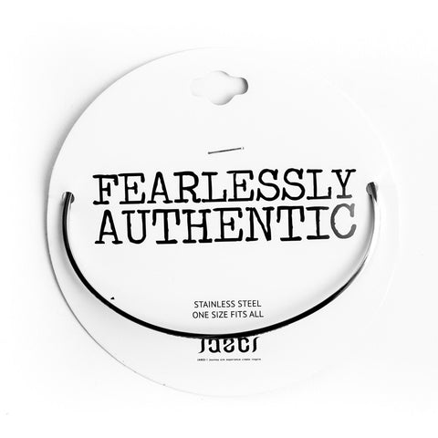 FEARLESSLY AUTHENTIC DELICATE BANGLE