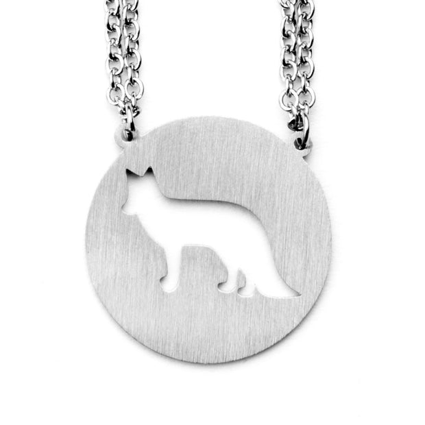 Fox Animal Necklace ESTP Spirit Animal Necklace - Jaeci Jewlery