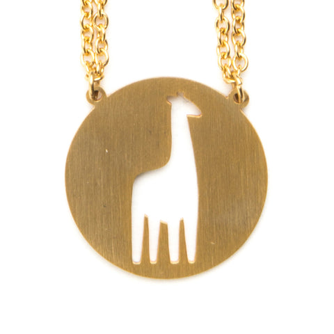Giraffe Spirit Animal Necklace INFP  - Jaeci Jewlery