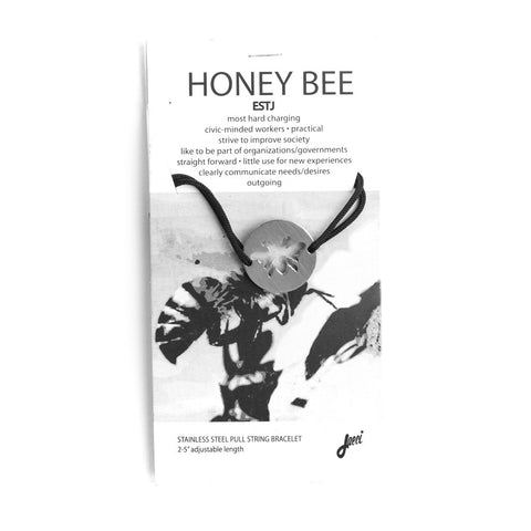 Honeybee Spirit Animal Bracelet ESTJ