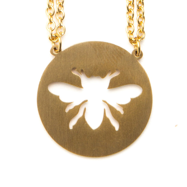 Honeybee Animal Necklace ESTJ Spirit Animal Necklace - Jaeci Jewlery