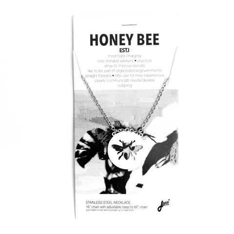 Honeybee Animal Necklace ESTJ