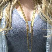 HAPPY Oversized Cutout Necklace Discontinued - Jaeci Jewlery