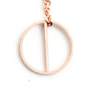 Harmony Symbol Necklace Long Necklace - Jaeci Jewlery