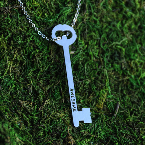 Key of Awesome Necklace  - Jaeci Jewlery