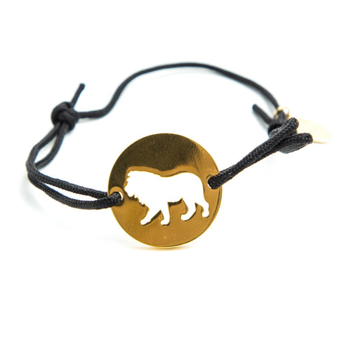 Lion Spirit Animal Bracelet ENTJ  - Jaeci Jewlery