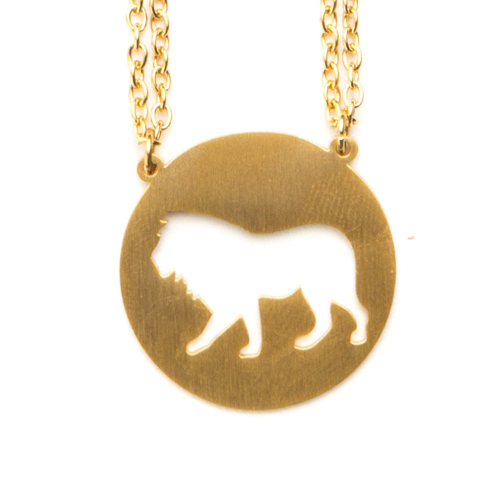 Lion Animal Necklace ENTJ  - Jaeci Jewlery