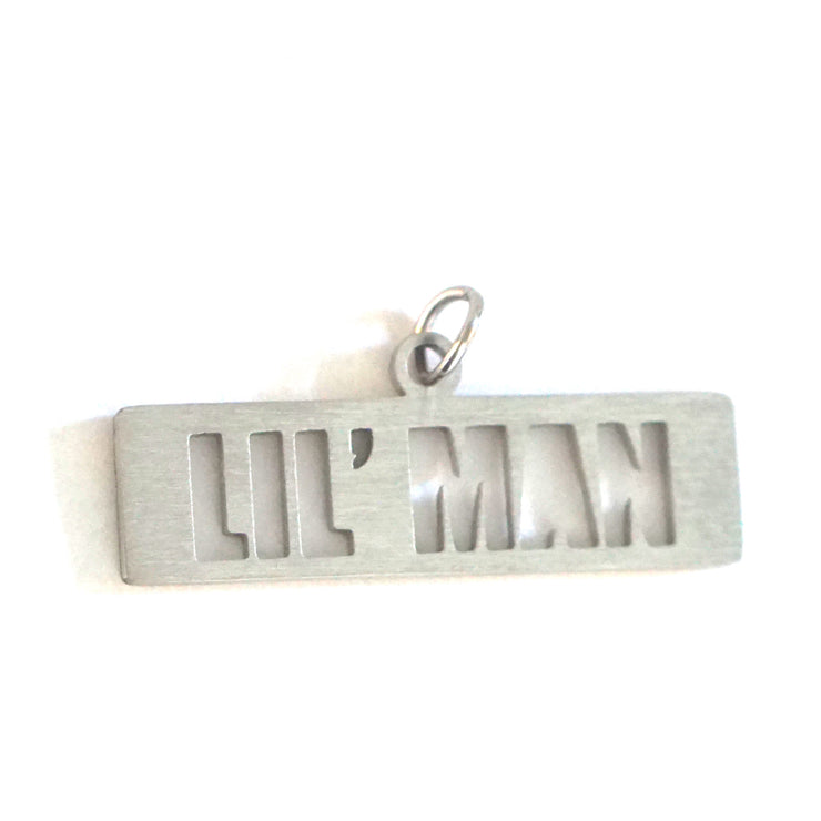 LIL' MAN DOG TAG Pet Tag - Jaeci Jewlery