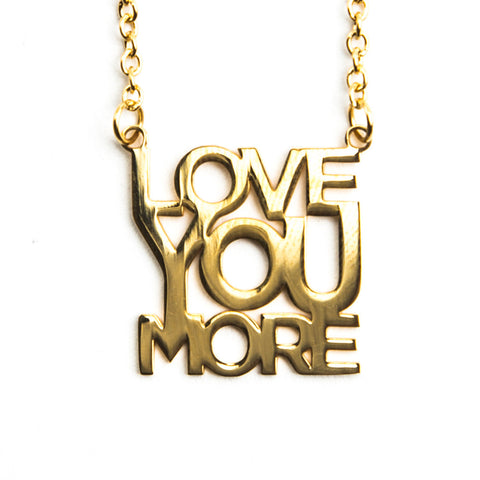 Delicate Love You More Necklace  - Jaeci Jewlery