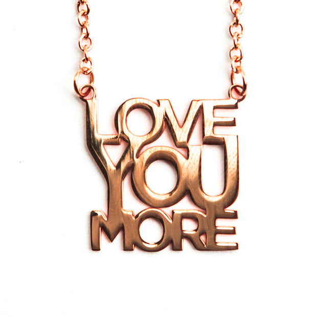 Delicate Love You More Necklace Short Necklace - Jaeci Jewlery