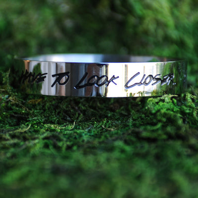 LOOK CLOSER BANGLE Discontinued - Jaeci Jewlery