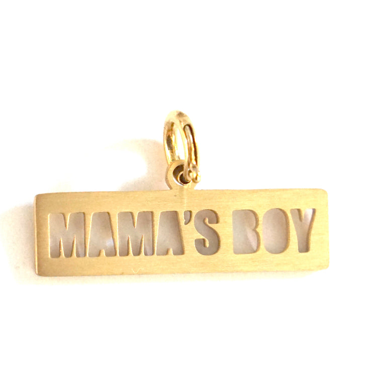 MAMA'S BOY DOG TAG Pet Tag - Jaeci Jewlery