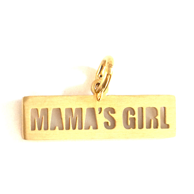 MAMA'S GIRL DOG TAG Pet Tag - Jaeci Jewlery