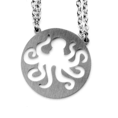 Octopus Spirit Animal Necklace INTJ Spirit Animal Necklace - Jaeci Jewlery