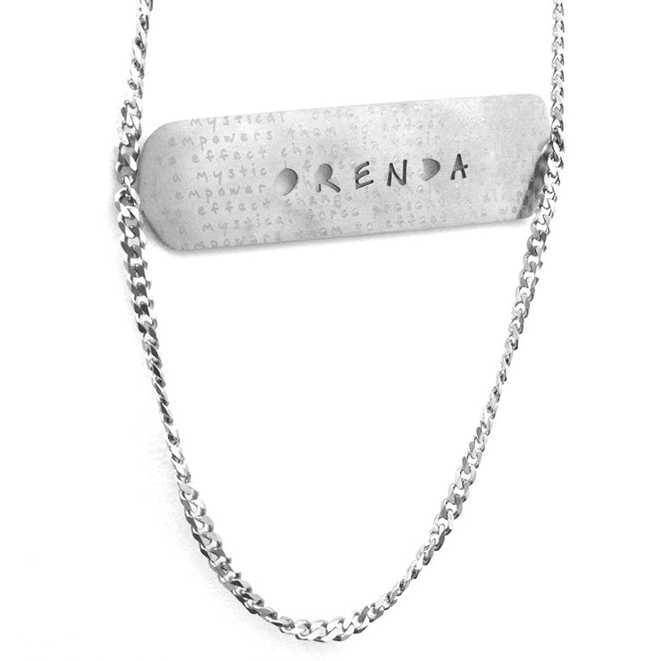 Orenda Word Cloud Cutout Necklace Discontinued - Jaeci Jewlery
