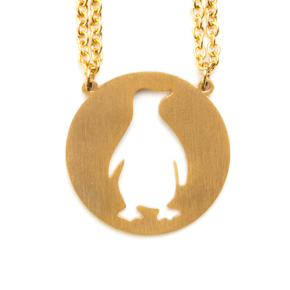 Penguin Spirit Animal Necklace ESFP  - Jaeci Jewlery