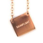 SIGNIFICANT NECKLACE Religious Jewelry - Jaeci Jewlery