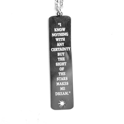 STARS QUOTE NECKLACE Long Necklace - Jaeci Jewlery