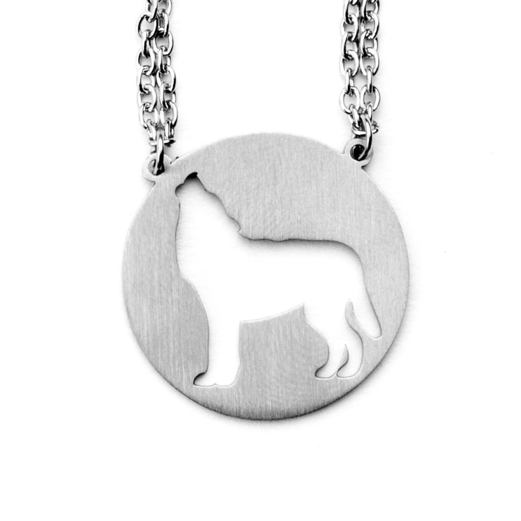 Wolf Spirit Animal Necklace INFJ Spirit Animal Necklace - Jaeci Jewlery