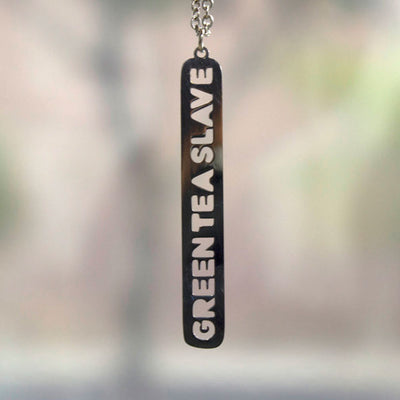 Green Tea Slave Necklace Discontinued - Jaeci Jewlery