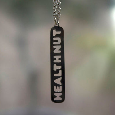 Health Nut Necklace Discontinued - Jaeci Jewlery